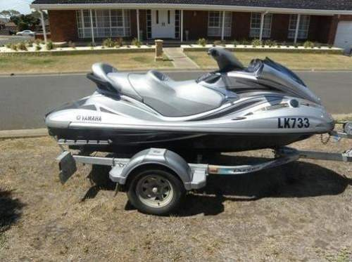 2008 YAMAHA 1200 Diesel boat Moderate fin with skeghung rudder JET