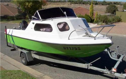 HUNTERCRAFT boat TROTT PARK SA