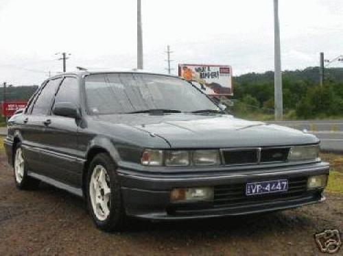 1989 used mitsubishi galant turbo vr4 vr4 car sales hornsby nsw 8 000. Black Bedroom Furniture Sets. Home Design Ideas