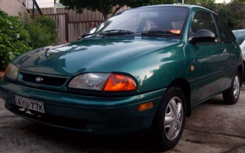 Used FORD FESTIVA Trio for sale with 1996 Ford Festiva Trio 1.3L 4cyl Auto 2