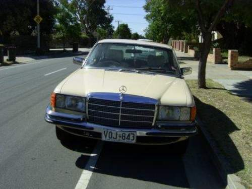 1980 used mercedes 280se sedan car sales north plympton sa for Mercedes benz 1900 model