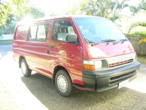 Used Toyota Hiace Van Car Sales Cairns Qld Excellent