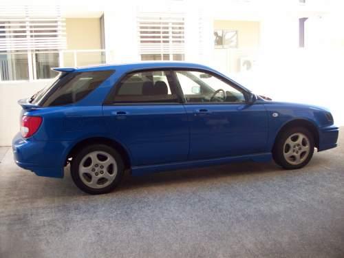 2002 used subaru impreza hatchback car sales sippy downs qld excellent 17 000. Black Bedroom Furniture Sets. Home Design Ideas