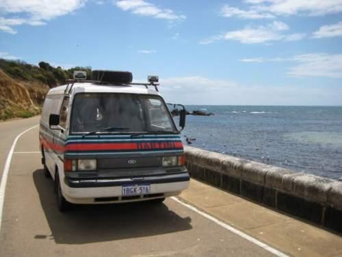 1989 used ford econovan maxi panel van car sales perth wa good 5 000. Black Bedroom Furniture Sets. Home Design Ideas