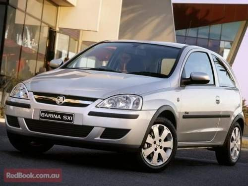 Build Date: 2005; Make: HOLDEN; Model: BARINA; Series: Price: $8900