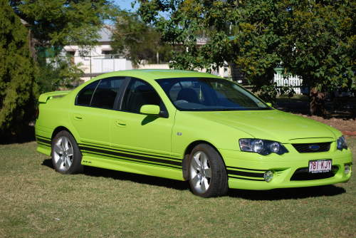 2005 Used FORD FALCON XR6 Bf SEDAN Car Sales Dalby QLD Very Good $ ...
