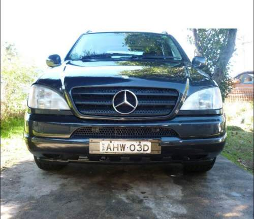 1999 used mercedes ml320 wagon car sales guildford nsw for Used mercedes benz ml320