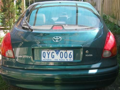 2001 Used Toyota Corolla Seca 1 8 Ascent Hatchback Car