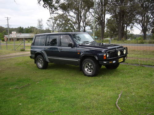 1991 used ford maverick long wheel base s wagon 4x4 4x4 wagon car sales ellalong nsw very good. Black Bedroom Furniture Sets. Home Design Ideas