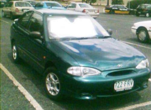 Used HYUNDAI EXCEL for sale with IMMACULATE CONDITIONS ONE OWNER