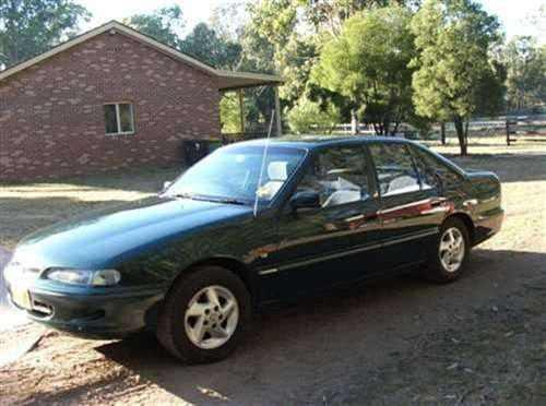 Build Date: 1997; Make: HOLDEN; Model: COMMODORE; Series: ACCLAIM VS II