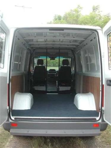 2005 used mercedes benz sprinter 413cdi swb panel van car for Barrier mercedes benz