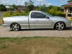 Enlarge Photo - Silver Ford XR6 profile