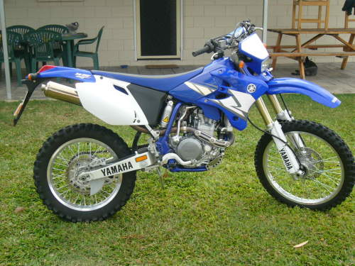 yamaha wrf enduro bushland beach qld excellent condition bushland beach qld