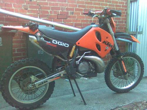 used ktm 250exc for sale with