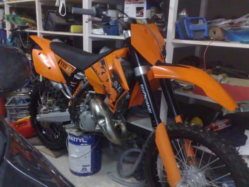 Build Date: 2006; Make: KTM; Model: 125SX; Bike Type: MOTOCROSS