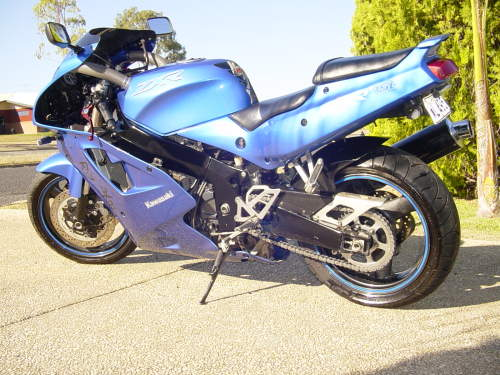 Where Is The Vin Number On A Kawasaki Zxr