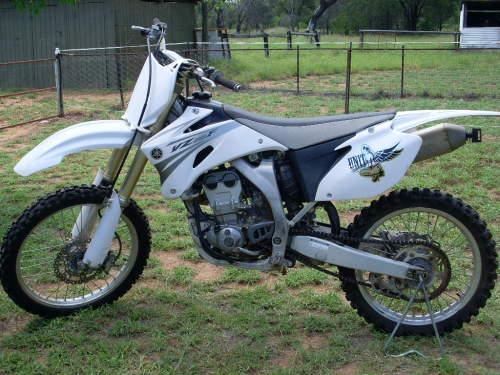 2007 yamaha yz250f trail alpha qld very good condition for Yamaha yz250f for sale