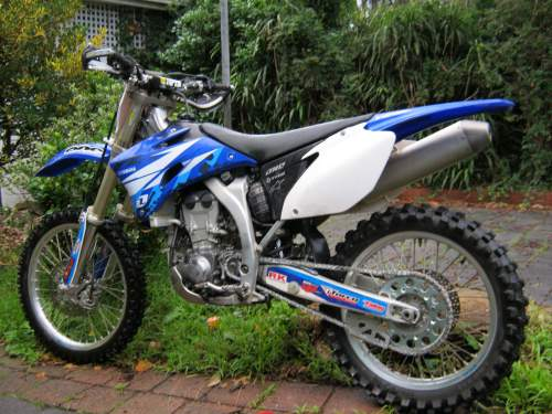 2007 YAMAHA YZ450F MOTOCROSS glen iris VIC As New Condition glen ...