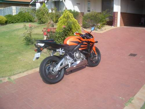 2006 Honda Cbr600rr Sportsbike Perth Wa Good Condition