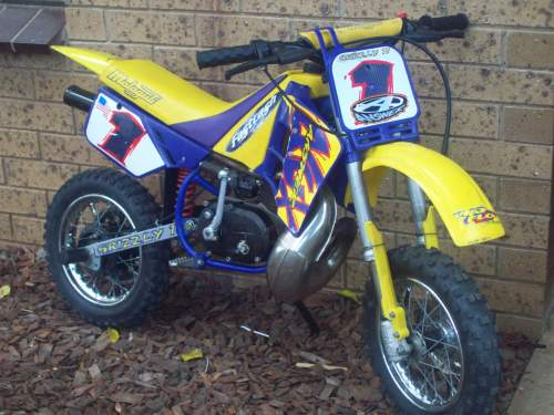 1999 ktm 50 mini adventure minibike echuca vic excellent for Used dirt bike motors for sale