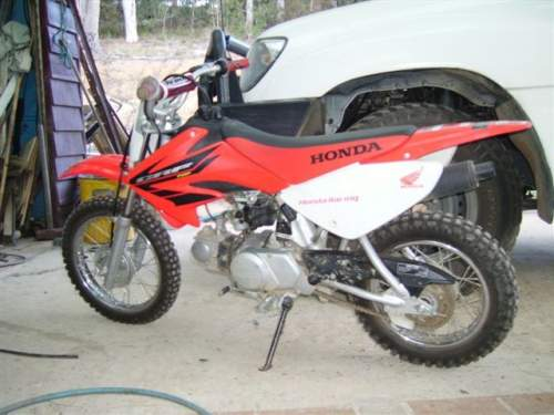 Used HONDA CRF70F For Sale With Great First Bike VGC $1,900